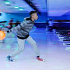 Don Knight | The Herald Bulletin<br /> A'Marien Page, 11, picks up a spare while bowling at Championship Lanes in Anderson as part of the city's Fall Break Camp.