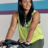 John P. Cleary | The Herald Bulletin<br /> Taffanie Stonewall, instructor at the YMCA.
