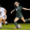 Don Knight | The Herald Bulletin<br /> Pendleton Heights' Taylor Fort takes a shot as the Arabians faced Muncie Central in the sectional semi-final at Noblesville on Thursday.