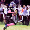 John P. Cleary | The Herald Bulletin<br /> APA's Lanson Jones breaks away for a 50 yard touchdown  on the first offensive play of the game for the Jets.