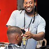 John P. Cleary | The Herald Bulletin<br /> Shannon Fuller owns Kulture S.H.O.K. Barbershop in Anderson.