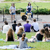 Don Knight | The Herald Bulletin<br /> Prank S with Jacob Cupps on drums and Brenn Shipman on guitar and vocals perform during Sneeze Fest at Shadyside Park on Saturday.