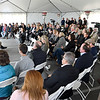 John P. Cleary | The Herald Bulletin<br /> Anderson Mayor Thomas Broderick Jr. gives remarks during the grand opening of Italpollina production facility Friday.
