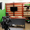 Don Knight | The Herald Bulletin<br /> WEEM has added a video set to their studio as they look to expand the opportunities for students to learn about working in the media.