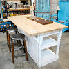 Don Knight | The Herald Bulletin<br /> Jim West said kitchen islands are one of the more popular items they make and sell at 3 Rusty Nails in Anderson.