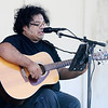 Don Knight | For The Herald Bulletin<br /> Local musician JT Sifuentes performs during the Hispanic Heritage Fiesta at the Madison County Community Health Center on Saturday.