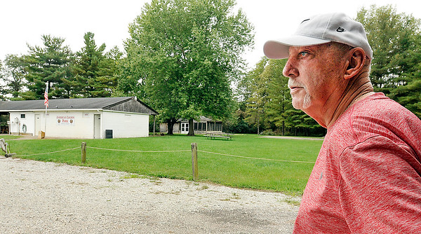 John P. Cleary | The Herald Bulletin<br /> The Fortville American Legion Post #391 is looking to sell American Legion Park, the facility they've operated since 1991 that sits just in Madison County.<br /> Max Jones, Fortville American Legion member and volunteer, was out checking   the park facilities Wednesday afternoon.