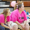 Bob Hickey | For The Herald Bulletin<br /> Emma Fox watches the Panthers play a recent volleyball match.
