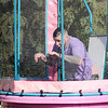 Don Knight | For The Herald Bulletin<br /> Shane Crippen takes a dunk in the dunk tank during Sober Fest at the Madison Park Church of God North Campus on Saturday.