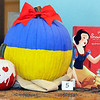 John P. Cleary | The Herald Bulletin<br /> Anderson Public Library staff decorates pumpkins as literary characters.