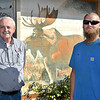 Kenny Kadinger, Lodge Administrator, and Ryan Green, Governor, of the Anderson Moose Lodge and Family Center.