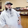 Aaron Goodson is the owner of Vintage Vapors in north Anderson.