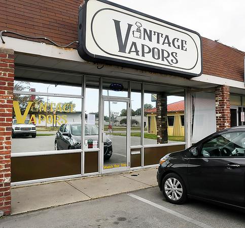 Vintage Vapors vape shop in north Anderson.