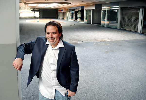 Mark Squillante, new owner of the Mounds Mall building.