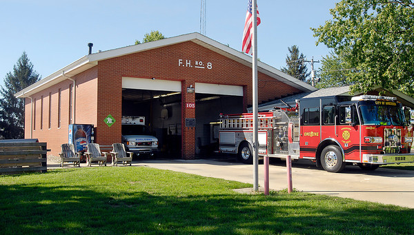 Anderson fire station #8 at 105 W. 53rd St.