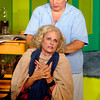 "Florence (Connie Rich) gets a neck rub from Olive (Katherine Holtzleiter) to help her relax in the production of ""The Female Odd Couple"" at the Mainstage Theatre."