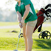 Anderson's Morgan Wiley putts on the seventh green at Grandview as Anderson faced Lapel on Wednesday.