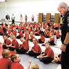 APA elementary students raised over $1700 for the Anderson Police Department K-9 program.  APD K-9 officer Darron Granger talked to the students about the K-9 program and answered their questions Tuesday.