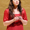 """Meaghan Sands portrays Elisabeth as AU students and alumni perform excerpts from the operetta """"Elisabeth and the Water Troll"""" during the Elizabeth York Children's Literature Festival at the York Performance Hall on Saturday."""