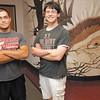 Frankton High School AP Scholars Zach Turner, left, and Blake Michael.