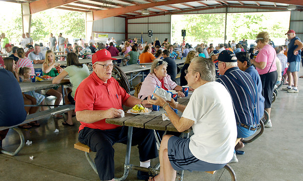 A large crowd enjoyed the annual Labor Day Picnic and Car Cruise-in sponsored by the Madison County Solidarity Labor Council at Beulah Park in Alexandria.