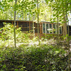 Don Knight/The Herald Bulletin<br /> Sue Blakely's cabin in the woods near Mechanicsburg is self sustaining allowing her to live off the grid.