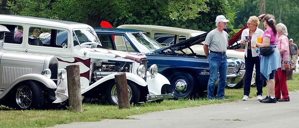 The annual Labor Day Picnic had a car cruise-in this year instead of the past car shows.