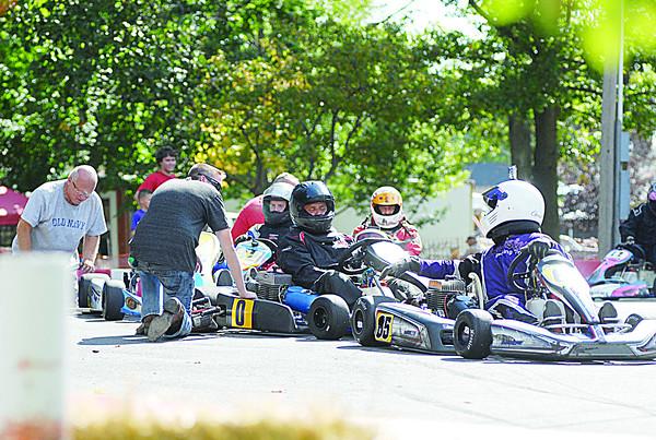 John P. Cleary | The Herald Bulletin<br /> Callaway Grand Prix cart racing at Elwood.