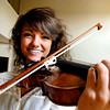 John P. Cleary | The Herald Bulletin<br /> Violinist Emma Campbell will be featured at Anderson Symphony Orchestra's opening concert kicking off their 47th season this weekend.