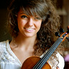 John P. Cleary | The Herald Bulletin<br /> Sixteen-year-old violinist Emma Campbell.