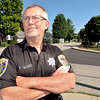 John P. Cleary | The Herald Bulletin<br /> Orestes Town Marshal Frank Ward for story on criminal background checks and disciplinary policies.