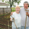 Don Knight | The Herald Bulletin<br /> Rex and Penny Mercer's get exercise and fresh produce from their garden which has the added benefit of saving them money on their grocery bill.