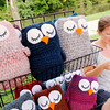 Don Knight | The Herald Bulletin<br /> Jennifer Day from Indianapolis crochets at her booth, Jifner's Stitches, during the Fall Creek Heritage Fair in Pendleton on Friday. The fair runs from 9 a.m. to 6 p.m. today.