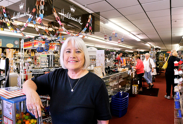John P. Cleary   The Herald Bulletin <br /> Beverly Cox, owner of Cox Gift Shop in Alexandria, is closing the business after 60 plus years of serving the community.