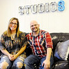 Don Knight | The Herald Bulletin<br /> Benjamin and Tessa Denen are opening Studio 3, a nonprofit music academy, in Pendleton. Studio 3 will offer private lessons for acoustic guitar, electric guitar, bass guitar, piano, keyboard/synth, drums and voice.