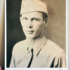 John P. Cleary |  The Herald Bulletin<br /> WWII Army veteran Virgil Stamm recently made the Indy Honor Flight to Washington D.C. This is his WWII poster made for the Honor Flight.