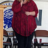 "Anderson vocalist Martha Green sings the National Anthem during the 2017 ""Honor the Badge"" event on Sunday afternoon."