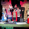 Mark Maynard | for The Herald Bulletin<br /> Alice plays a game of crouqet against the Queen of Hearts while other denizens of Wonderland enjoy the spectacle.