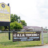 Don Knight | The Herald Bulletin<br /> A.L.A. Trucking is remodeling the former Carter Lumber on Dr. Martin Luther King Jr. Boulevard.