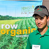 John P. Cleary |  The Herald Bulletin<br /> John-Paul Franks, of Oak Ridge Farms, hosted the Moses Organic Field Day<br /> on their Pendleton farm last week.