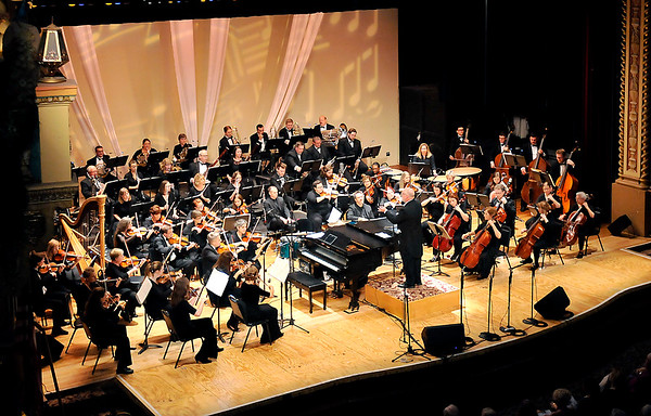 John P. Cleary |  The Herald Bulletin<br /> Anderson Symphony Orchestra's 50th anniversary season opener.