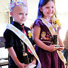 Don Knight | The Herald Bulletin<br /> Kaden Betz and Mariah Clark are crowned the 2017 Prince and Princess during Frankton Heritage Days on Friday. The festival continues through Sunday.