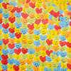 Don Knight | The Herald Bulletin<br /> Over 2,200 hearts decorate the stage during Stand Up for Kids, a comedy fundraiser for Aspire's Kids Talk at the Paramount on Saturday. Each heart represented a child helped by the organization.