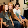 Don Knight | The Herald Bulletin<br /> Kristine Stuckey is raising her grandchildren Sierra and Matthew. In Indiana, 59,000 children — about 4 percent — live with relatives in homes without their parents.
