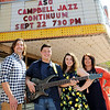 Don Knight | The Herald Bulletin<br /> Campbell Jazz Continuum will be performing with the ASO this weekend. From left are Russ Campbell, Trey Campbell, Alyssa Campbell and Julie Campbell.