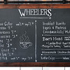 John P. Cleary | The Herald Bulletin<br /> The menu board at Wheelers cafe & market in Mercantile 37.