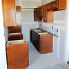 Don Knight | The Herald Bulletin<br /> New cabinets installed in one of the apartments at Beverly Terrace on Wednesday.