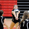 Don Knight | The Herald Bulletin<br /> Lapel's Emily Eppert passes the ball as the Bulldogs traveled to the Eagles Nest to face Frankton on Wednesday.