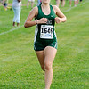 Don Knight | The Herald Bulletin<br /> Pendleton Heights Laney Ricker wins the Madison County cross country meet at Pendleton Heights on Tuesday.