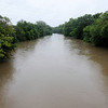 Don Knight | The Herald Bulletin<br /> The White River level was at 10 feet when this photo was taken on Saturday afternoon. As of this writing the National Weather Service was forecasting a crest of 15 feet on Sunday.